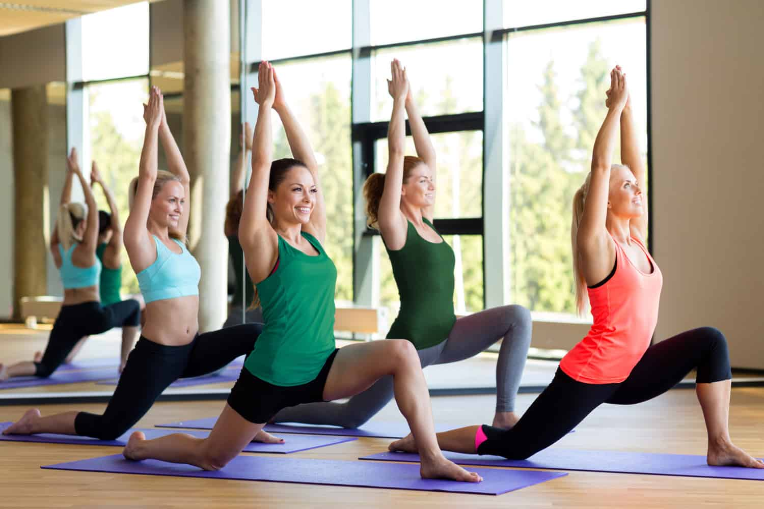 Yoga class - digital marketing for yoga studios