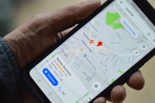 Local searches and Google My Business